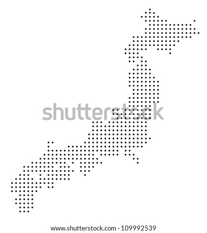 Japan Map Stock Images RoyaltyFree Images Vectors Shutterstock - Japan map vector free download