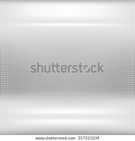 Dotted metal texture. Eps10 vector abstract background. Used mesh and opacity for glossy effect at surface - stock vector