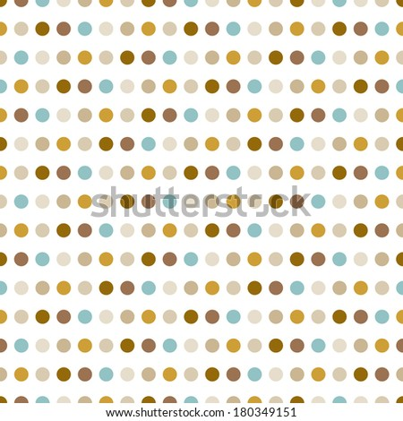 Dotted pattern. Modern stylish texture. Repeating spiral abstract background for wallpaper.  - stock vector