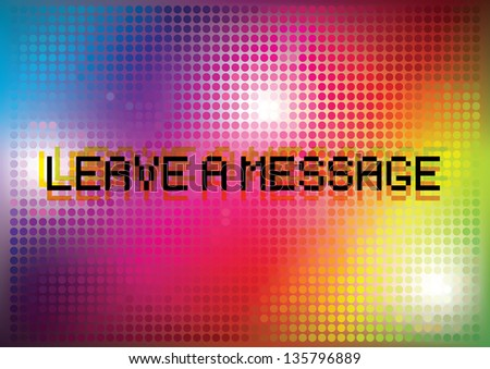 Dotted rainbow background 2.. - stock vector