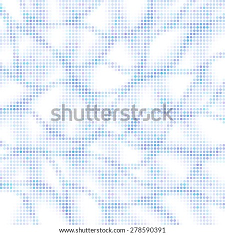 Dotted vector background - stock vector