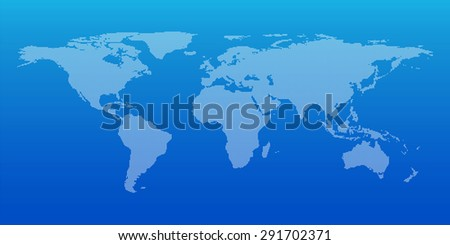 Dotted world map for global business background, Vector illustration, Elements of this image furnished by NASA - stock vector