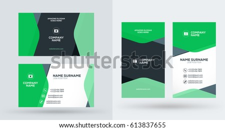 poster flyer template circle abstract background stock vector