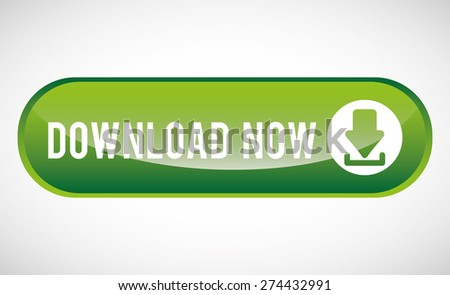 download button design, vector illustration eps10 graphic