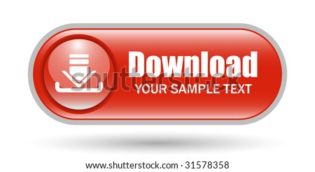 Download Sign Icon with Space for Text - stock vector