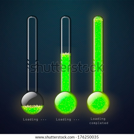 download thermometer - stock vector