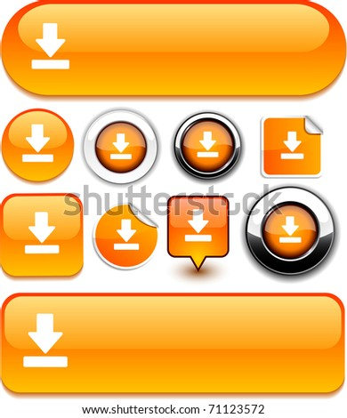 Download vector high-detailed icons. - stock vector