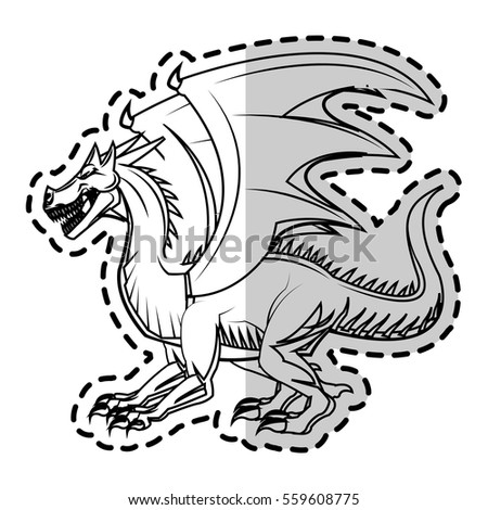dragon cartoon icon