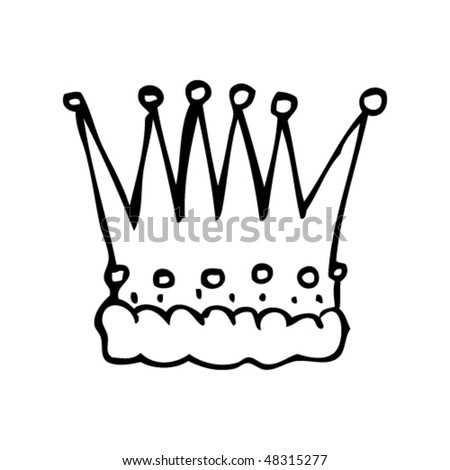 drawing of a crown
