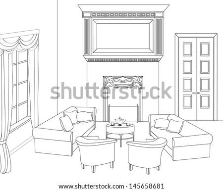 Ideas for arranging living room furniture ehow ask home for Living room outline