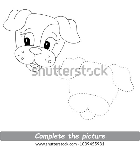 easy dog drawings stock images royalty free images vectors shutterstock. Black Bedroom Furniture Sets. Home Design Ideas