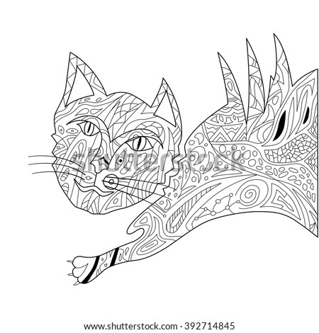 persian cat coloring pages - adr1us 39 s portfolio on shutterstock