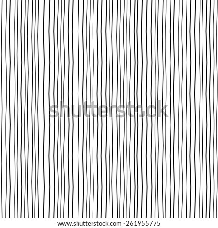 drawn lines. Seamless pattern. simple vector background - stock vector
