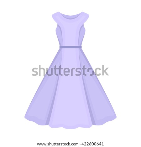 Dress icon. Dress icon vector. Dress icon flat. Dress icon app. Dress icon web. Dress icon logo. Dress icon sign. Dress icon cartoon. Dress icon design. Dress icon eps. Dress icon art. Dress icon draw - stock vector