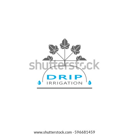 Drip irrigation stock vectors images vector art - Logo lavage machine ...