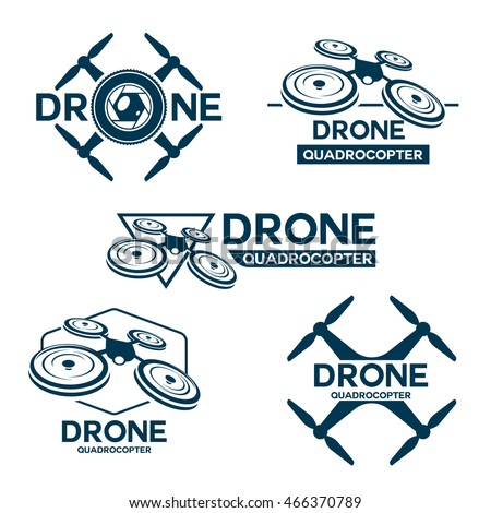 drone logo stock images royalty free images vectors. Black Bedroom Furniture Sets. Home Design Ideas