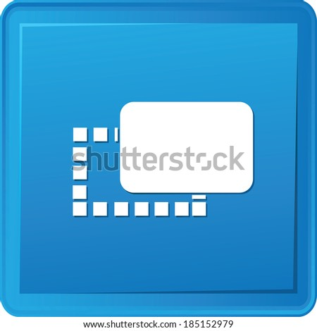 Drop - down symbol,vector - stock vector