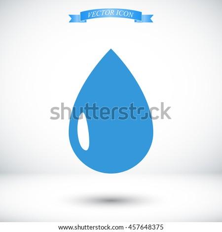 drop icon - stock vector
