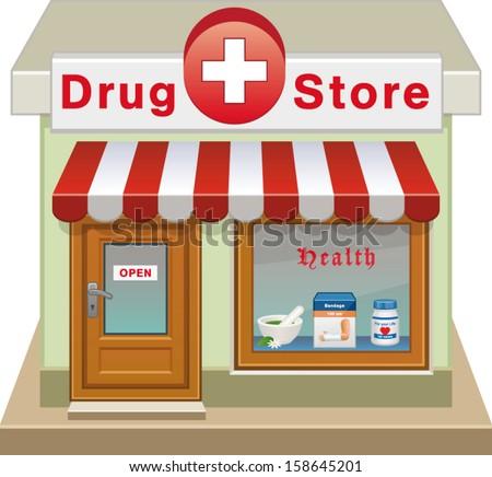 Drug Store Stock Vectors & Vector Clip Art | Shutterstock