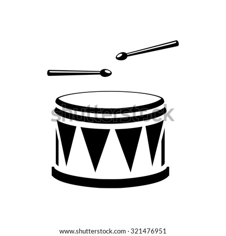 Snare Drum Icon Stock Images Royalty Free Vectors