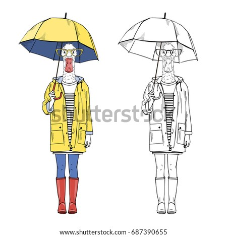 Duck Umbrella Stock Images Royalty Free Images Amp Vectors