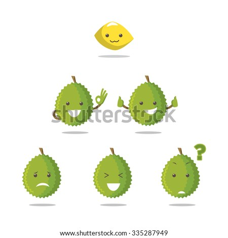 Durian emoticon