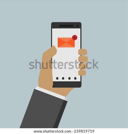 e-mail - stock vector