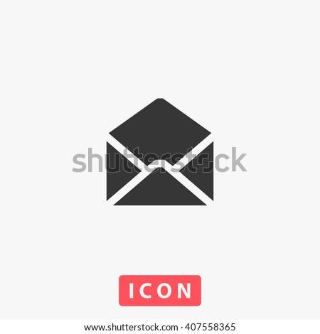 e-mail Icon.  - stock vector