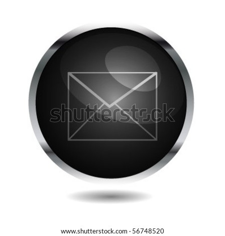 E-mail web buttons. - stock vector