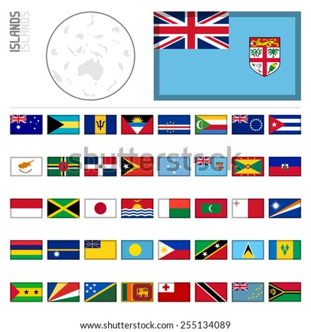 E-shop miniature flags. Sovereign Islands