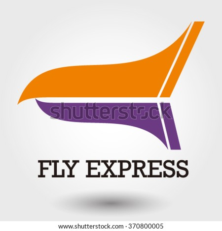 eagle beak logo for airlines and freight business