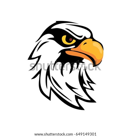 bald eagle head logo stock images, royalty-free images & vectors