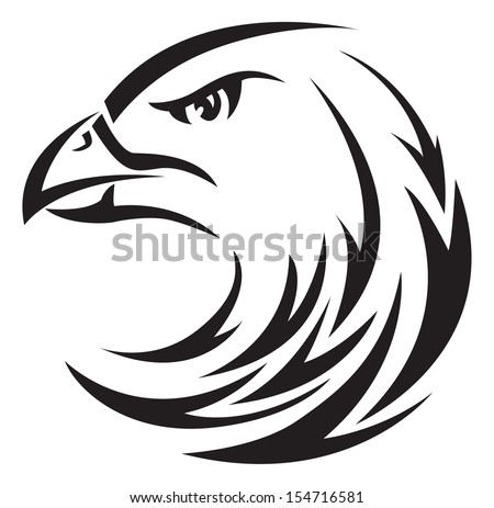 Eagle head tattoo design   Eagle Head Tattoo Drawing