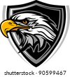 Eagle Head Vector Graphic Mascot Image - stock vector
