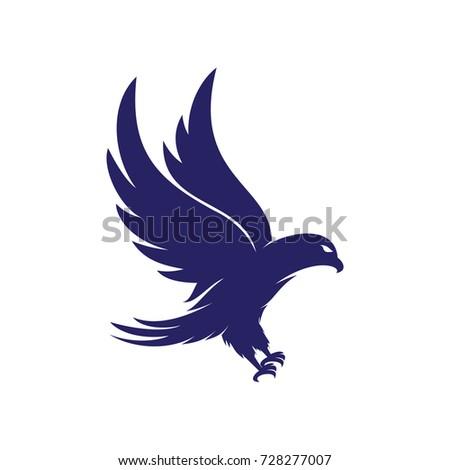 eagle logo vector stock vector 728277007 shutterstock