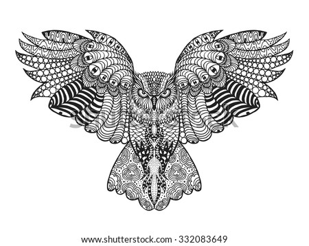 Owls Black and White Photography Posters and Prints at