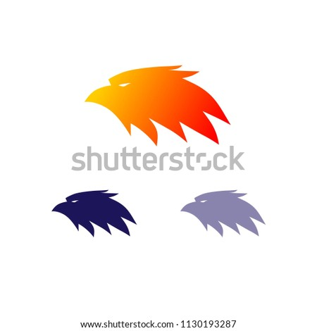 Eagle Professional Logo Design Stock Vector 1130193287 - Shutterstock