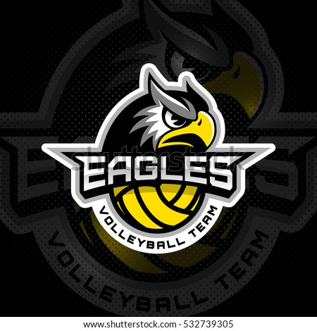 volleyball logo stock images, royalty-free images & vectors