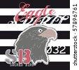 eagle spirit - stock vector