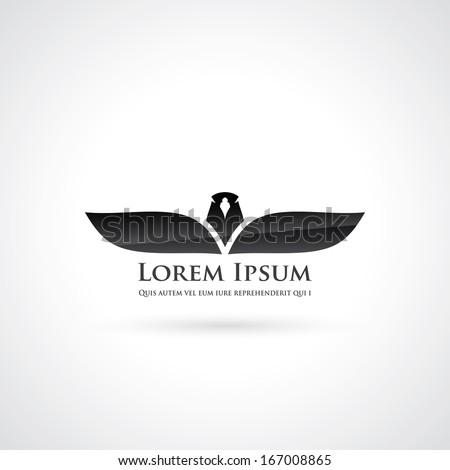 Eagle symbol - vector illustration - stock vector