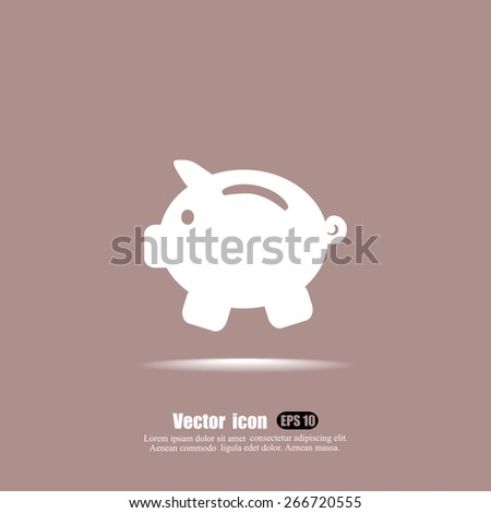 earnings vector icon - stock vector
