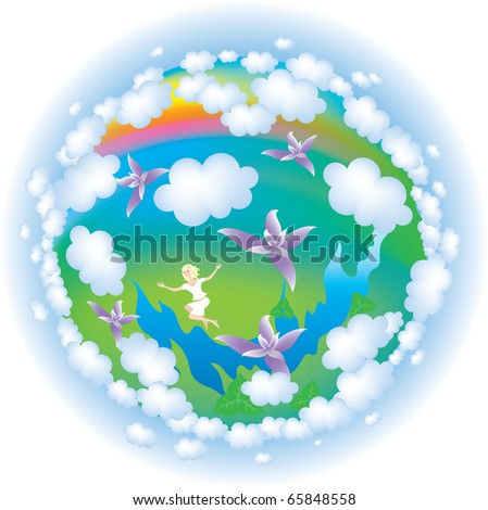 Earth,environment,rest,nature,vector - stock vector