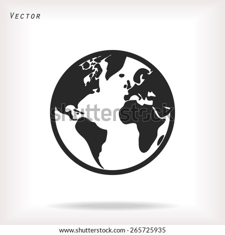 earth icon . Vector  Eps 10  - stock vector