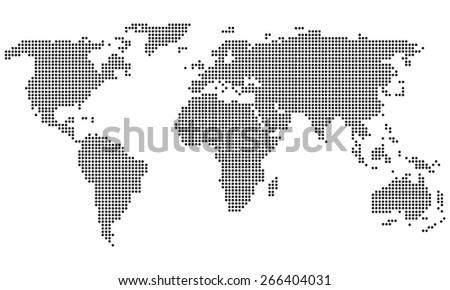 Earth vector icons - stock vector