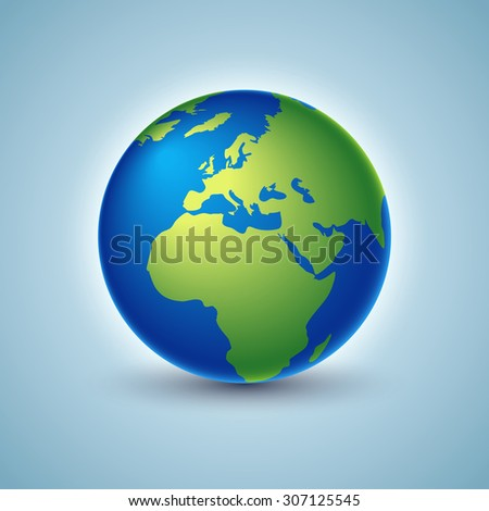 Earth. Vector illustration - stock vector