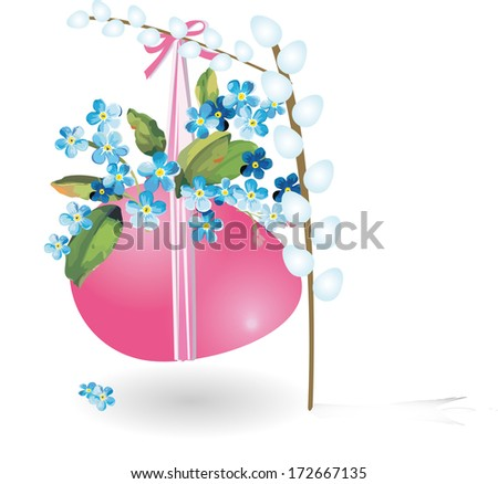 easter - stock vector