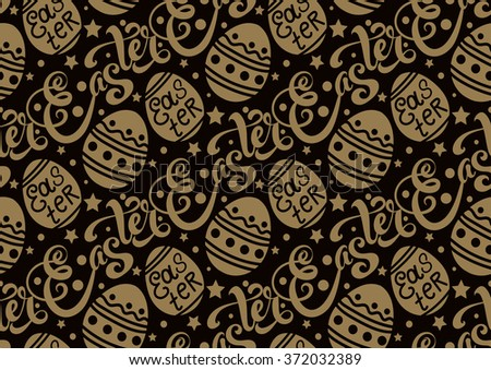 Easter. Easter Picture. Easter Image. Easter Graphic. Easter Egg. Easter Sunday. Easter Day. Easter Background. Easter Card. Easter Holiday. Easter Vector. Easter Egg Vector. Happy Easter. Dark   - stock vector