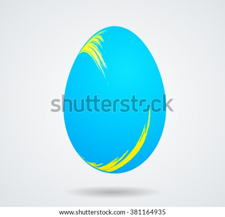 Easter Egg Bright.Easter Egg Artistic.Easter Egg One.Easter Egg Shining.Easter Egg Art.Easter Egg Vector.Easter Egg Paint.Easter Egg Object.Easter Egg Background.Easter Egg Glossy.Easter Egg Design. - stock vector
