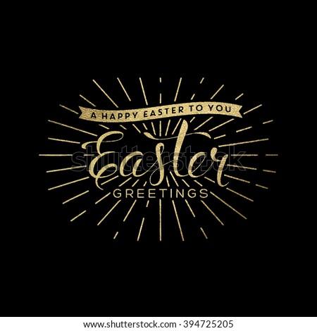 Easter illustration - stock vector