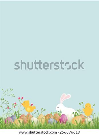 Easter. Vector illustration - stock vector